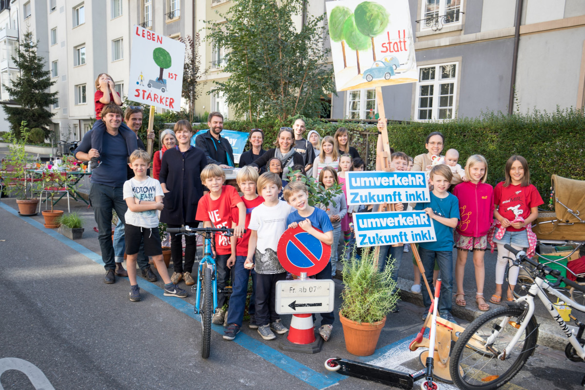 Bild des Parking Days 2019 in Basel