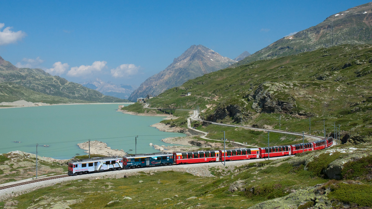 Foto des Bernina Express