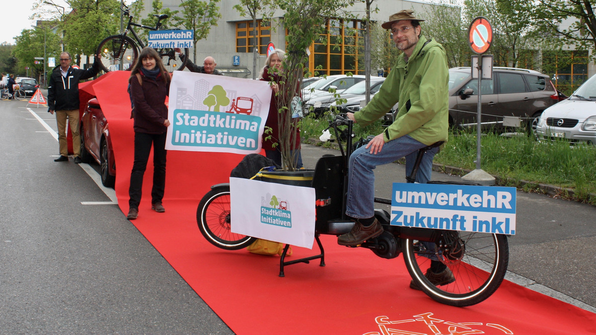 Foto der Lancierung der Stadtklima-Initiativen in Winterthur